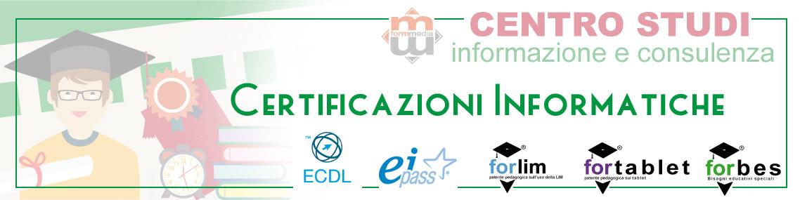 Certificazioni Informatiche - formmedia.it